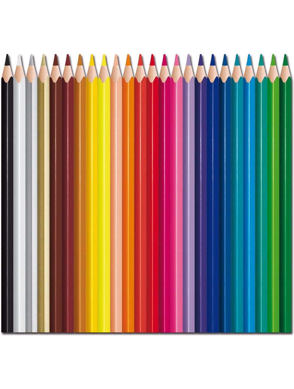 MAPED COLOR'PEPS STRONG x 24 COLOURED PENCILS