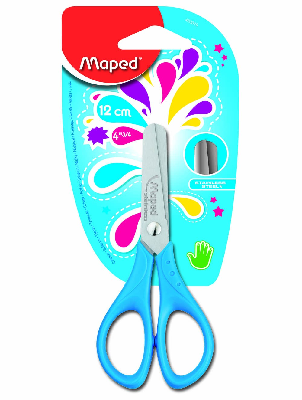 MAPED 13CM ESSENTIAL TRY ME SCISSOR