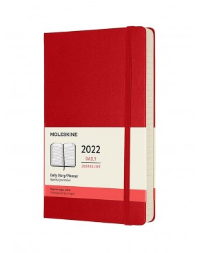 MOLESKINE DAILY PLANNER 2022 - LARGE SIZE