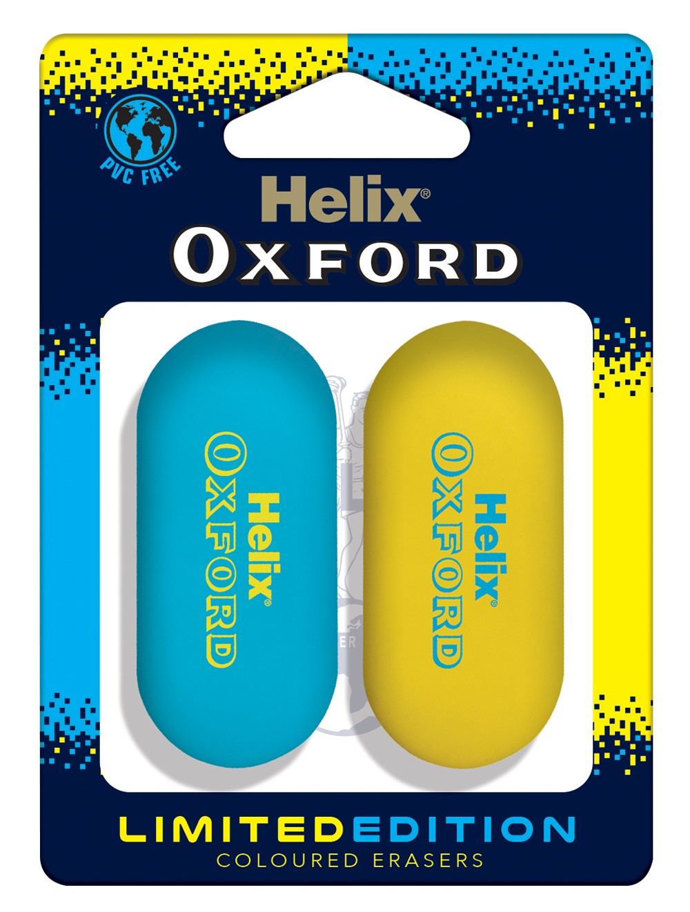 HELIX OXFORD CLASH ERASERS X2