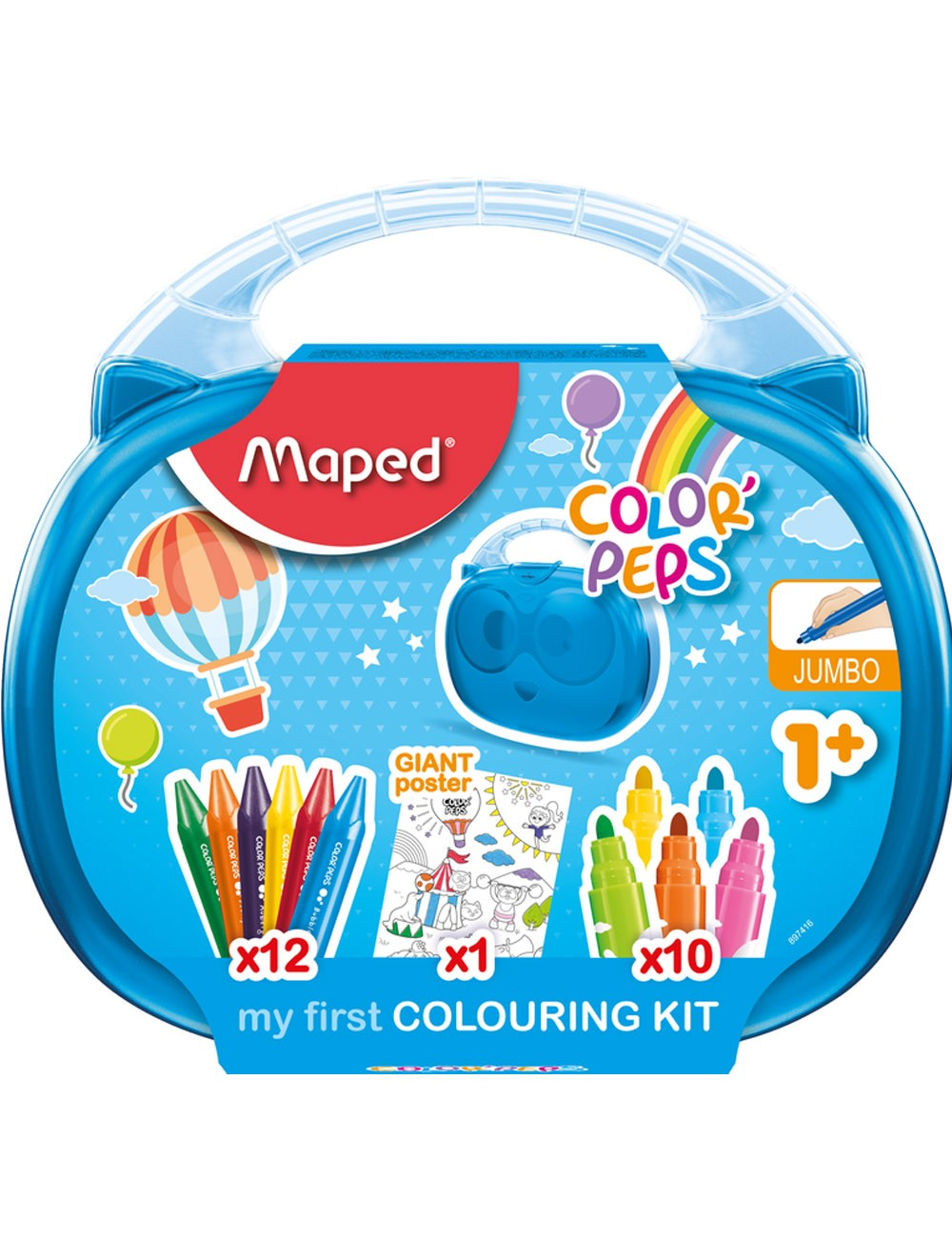 MAPED COLOR'PEPS BOX - MY FIRST COLOURING KIT