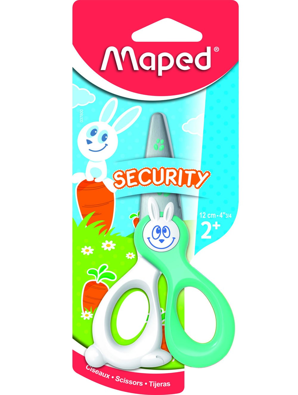 MAPED KIDICUT SAFETY SCISSORS ON B/C