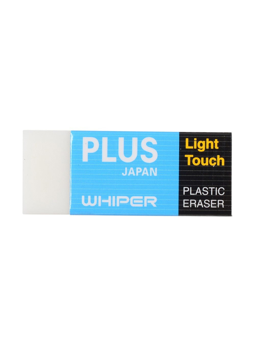 PLUS ERASER - WHITE