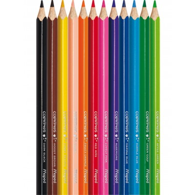 MAPED COLOUR'PEPS STAR- BOX OF 12 PENCILS