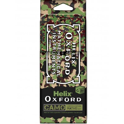 HELIX OXFORD CAMO MATHS SET